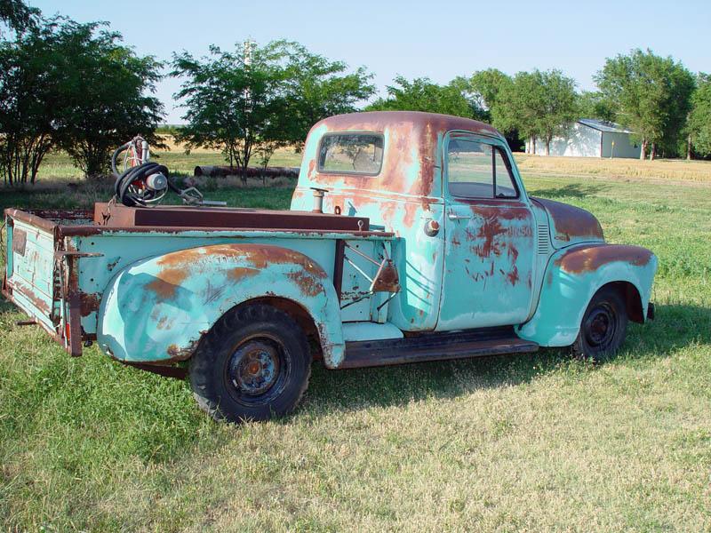 Patina, shop logo\'d, rusty trucks? - Page 43 - The 1947 - Present ...
